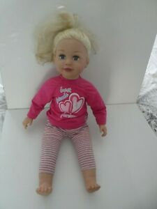 """ZAPF SALLY BLONDE GIRL 24""""  DOLL IN OUTFIT  - BUNDLE"""