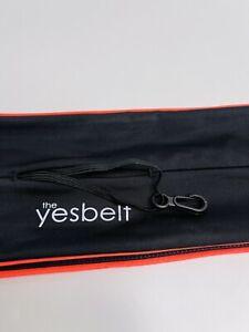 The Yesbelt Black Stretch Travel Money Running Jogging Hiking Belt Size Small XL