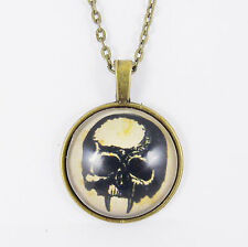 VAMPIRE SKULL NECKLACE fangs goth emo steampunk vintage demon fangs gothic