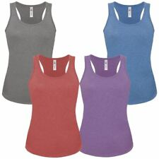 NEW Womens Ladies Vest Cami Sleeveless Top T-shirt Base Layer Gym Tank Top Basic