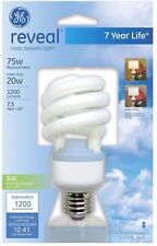 Ge Spiral Reveal Light Bulb 1 ea (Pack of 2)