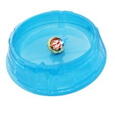 New Beyblade Stadium Battle Attack Top Plate Transparent Blue Combat Arena