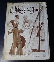 1932 LA MODE DU JOUR ~ PARIS FASHION & SEWING PATTERN Magazine