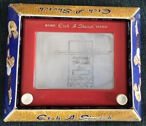 Ohio Art Classic Etch-A-Sketch Magic Screen No. 505 (Needs An Artist!)