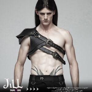 goth Steampunk medieval swordsman knight pauldron shoulder armor【JPWS290】