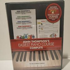 John Thompson's Easiest Piano Course Complete 4-Book Set and Audio 000416812