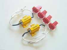 Pair of LED Auto Signal LIGHT Error Free Gold Resistor Fix Kit 10 OHM 25W P3