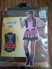 COWGIRL Halloween Costume NIP GIDDY UP GIRL Child Size Large 12-14 NEW 2 piece