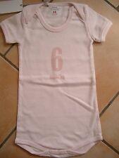 (X195) Imps & Elfs Baby Body Strampler ohne Beine + Druck & Logo Aufnäher gr.68