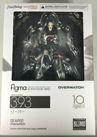 GOOD SMILE COMPANY FIGMA MAX FACTORY REAPER ACTION FIGURE SERIES OVERWATCH NEW