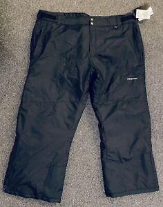 Mens Skigear By Arctix Snowsport Cargo Pants Black 3XL 48-50W A6
