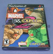 OFFICIAL BRAND NEW SONY PLAYSATION 2 PS2 MARVEL VS CAPCOM 2