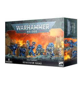 Devastator Squad: Space Marines WARHAMMER 4OK BNIB
