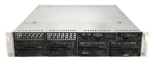 SUPERMICRO CSE-825 CHASSIS 2U + PSU 560W 80+ BACKPLANE