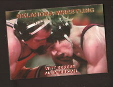 Oklahoma Sooners--2001-02 Wrestling Pocket Schedule--C & R Print Shop