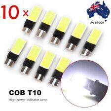 10PCS T10 ERROR FREE CANBUS 501 SMD LED SIDELIGHT WHITE BULBS XENON W5W 194 CREE
