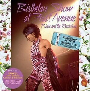 Prince Anniversaire Show At First Avenue 1984 2CD F/S Japan Neuf