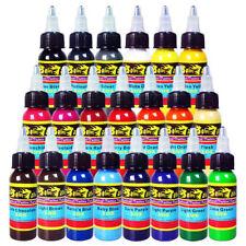 Solong Tattoo Ink 21 Colors Set 1oz 30ml/Bottle Tattoo Pigment Kit TI301-30-21