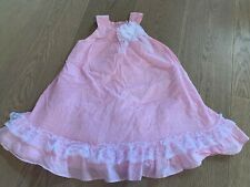 Bonnie Jean Euc 4 4t Pink Lace Easter Church Wedding Party Summer Dress