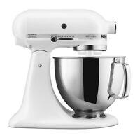 KitchenAid 5-Quart Artisan Tilt-Head Stand Mixer | Matte White