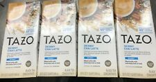 (4)Tazo Skinny Chai Latte Black Tea Concentrate 32 Fl Oz X 4