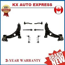 8 Piece Front Control Arm Sway Bar Tie Rod End Kit for Mazda CX-7 2010 2011 2012