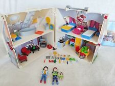 Playmobil Modern Living 5167 Take Along house Rooms Furniture Figures Accessory