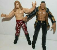 WWE USED Edge & The Rock Titan Tron Live Action Figure Jakks Wrestling