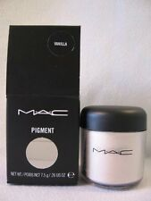 MAC PIGMENT COLOR POWDER 7.5 GRAMS FULL SIZE NEW IN BOX.EYE SHADOW. VANILLA.