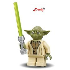 Lego Star Wars - Yoda with lightsaber *NEW* from set 75168