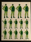 Green Giant 14ct Sticker Sheet - New Condition - 1986 - Rare Sales Material