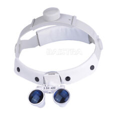 Dental Headband Surgical Medical Binocular Loupes Magnifier Optical 3.5X-R Italy
