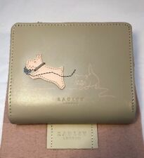 Radley Paws Off Medium Bifold Coin Purse With Dust Bag Ivory/natural