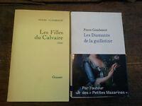 Lot 2 livres de Pierre Combescot Les diamants de la guillotine Les filles du
