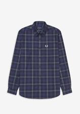 Fred Perry Winter Tartan Shirt/blue - 2xl SRP