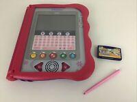 VReader Learning Handheld Tablet System Pink Game Cartridge Lot Tested Vtech