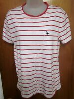 JACK WILLS University Outfitters small T shirt Gentry Bird icon striped tee UK