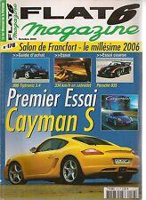 FLAT 6 176 PORSCHE CAYMAN S 996 CARRERA 2 TIPTRONIC 3.4 935 911 T 2.2 TECHART