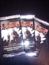 The Last Crusade CCG sealed Boosters x3