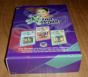 LINA MORGAN PACK 3 PELICULAS DVD NUEVO COMEDIA CINE ESPAÑOL R2