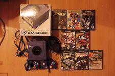 Console game cube en boite deux manettes + 8 jeux et fils