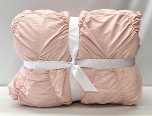 NEW Pottery Barn TEEN Whimsical Waves FULL/QUEEN Comforter~Quartz Blush Pink