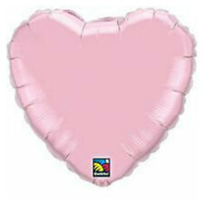 Party Supplies Wedding Birthday Baby Pearl Pink Heart 45 cm Foil Balloons