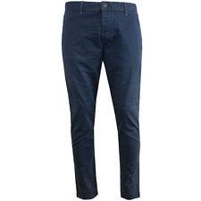Pantaloni da uomo blu marca JACK & JONES cotone
