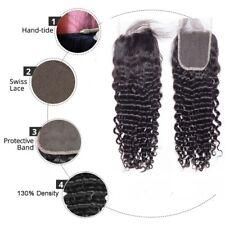 "De Brasil Virgin Hair Rizos Profundos 3 Paquetes 61cm26"" 28"" With 55.9cm 4 By 4"