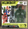 "Stikbot Klikbot Animation Action Figure Monster Cosmo Zing New Green ""Helix""."