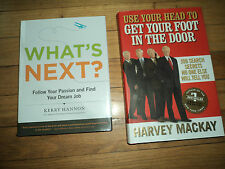 2 Job Search Books Use Your Head Get Your Foot In Door MacKay What's Next Hannon