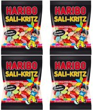 4 x HARIBO - Sali Kritz - 4 x 200 gr - German Product - FREE SHIPPING