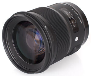 Sigma 35mm f/1.4 DG HSM Art Lens for Sony A DSLR Cameras - 340205
