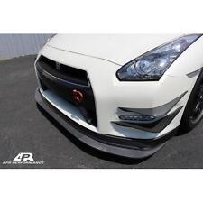 APR Performance Carbon Fiber Front Bumper Canards Skyline R35 GTR GT-R 09-11 New